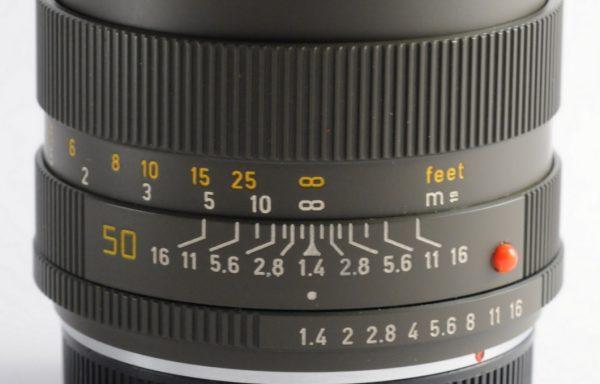 Obiettivo Leica R Summilux 50mm f/1,4 Safari