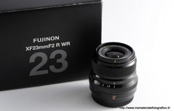 Obiettivo Fujifilm XF 23mm f/2 R WR