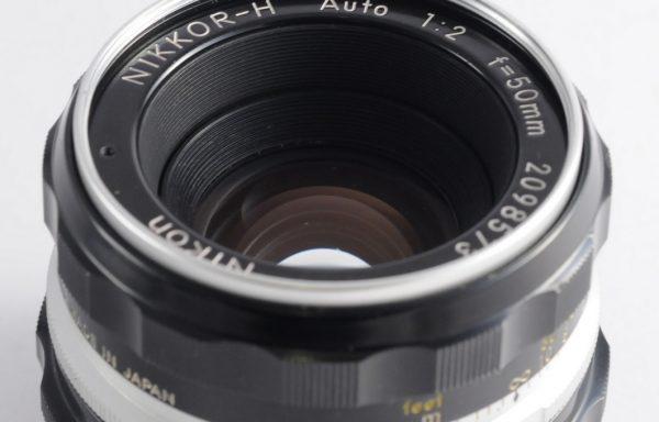 Obiettivo Nikkor-H 50mm f/2