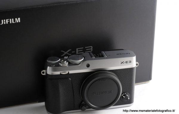 Fotocamera Fujifilm X-E3 Silver