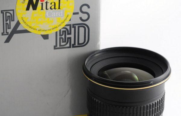 Obiettivo Nikkor AF-S 12-24mm f/4 G ED DX