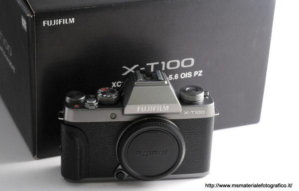 Fotocamera Fujifilm X-T100 Dark Silver