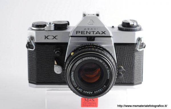 Kit Fotocamera Pentax KX + Obiettivo SMC Pentax-M 50mm f/1,7