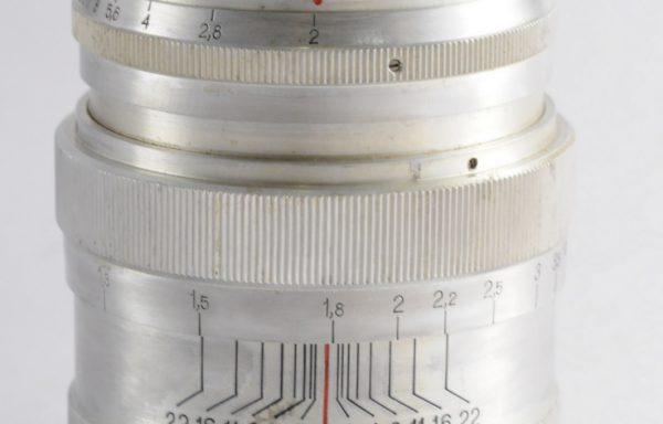 Obiettivo Jupiter 9 85mm f/2 M39