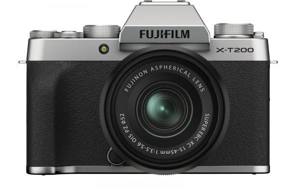 Kit Fotocamera Fujifilm X-T200 Silver + Obiettivo Fujinon XC 15-45mm f/3.5-5.6 OIS PZ