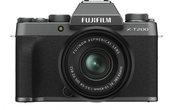 Kit Fotocamera Fujifilm X-T200 Dark Silver + Obiettivo Fujinon XC 15-45mm f/3.5-5.6 OIS PZ