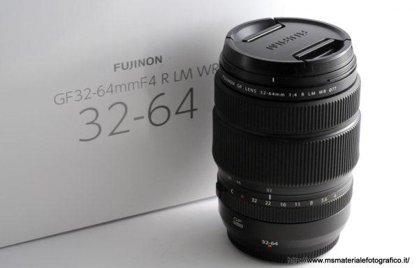 Obiettivo Fujifilm GF 32-64mm f/4 R LM WR