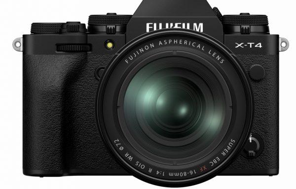 Kit Fotocamera Fujifilm X-T4 Black + Obiettivo Fujifilm XF 16-80mm f/4 R OIS WR