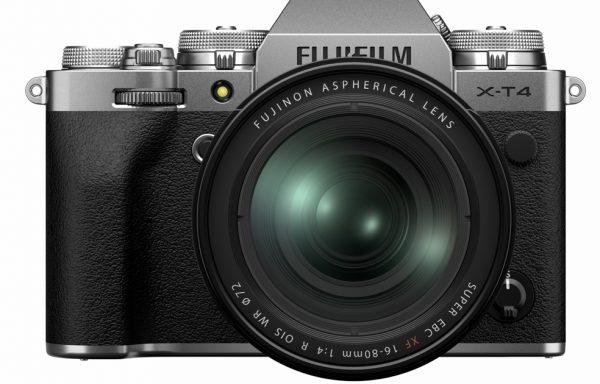 Kit Fotocamera Fujifilm X-T4 Silver + Obiettivo Fujifilm XF 16-80mm f/4 R OIS WR