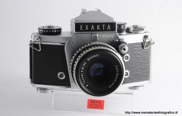 Kit Fotocamera Exakta VX 1000 + Obiettivo Carl Zeiss Jena Tessar 50mm f/2,8