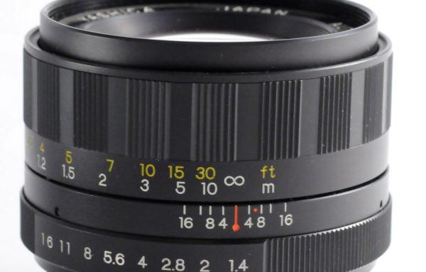 Obiettivo Yashinon-DS 50mm f/1,4 M42