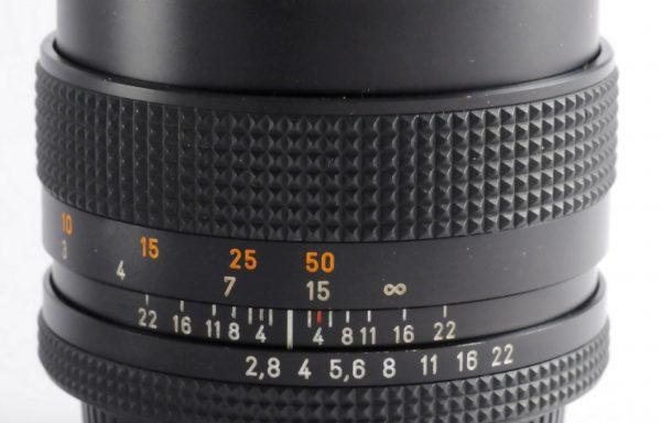 Obiettivo Contax Sonnar 85mm f/2,8 Germany