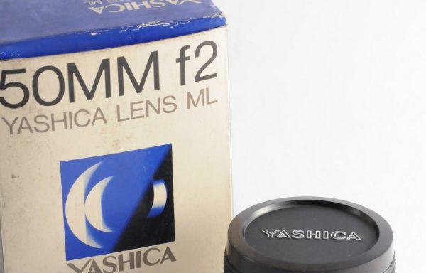Obiettivo Yashica ML 50mm f/2