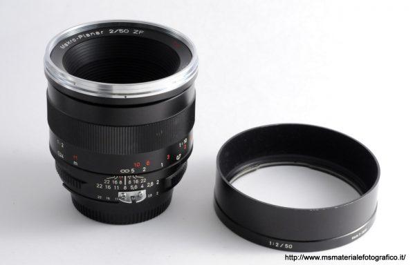Obiettivo Zeiss Makro-Planar 50mm f/2 ZF