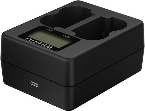 Fujifilm dual battery charger BC-W235 per X-T4