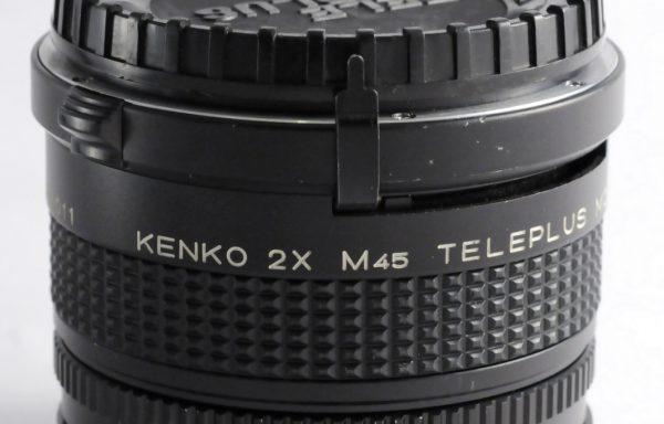 Teleconverter Kenko 2x M45 per Mamiya 645