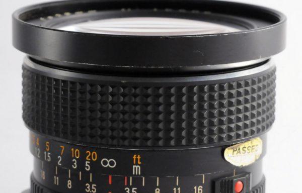Obiettivo Mamiya-Sekor C 35mm f/3,5 per Mamiya 645