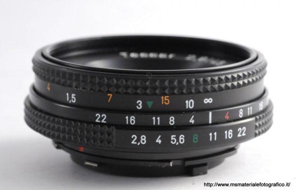 Obiettivo Contax Tessar 45mm f/2,8