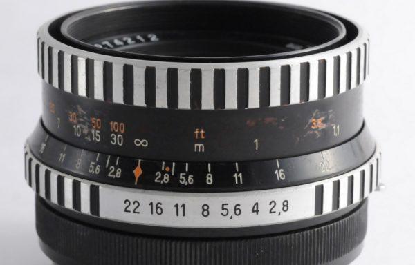 Obiettivo Pentacon 80mm f/2,8