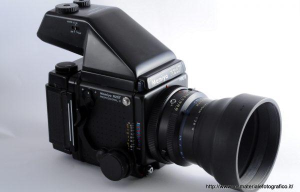 [Promozione] Kit Fotocamera Mamiya RZ67 PRO II + Obiettivo Mamiya-Sekor Z 110mm f/2,8 W + Magazzino