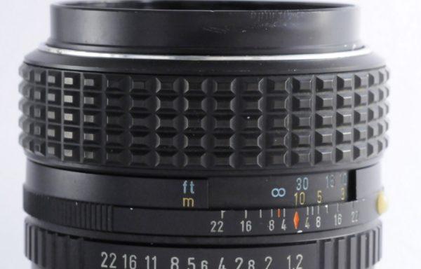 Obiettivo SMC Pentax 50mm f/1,2