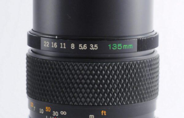 Obiettivo Olympus Auto-T 135mm f/3,5