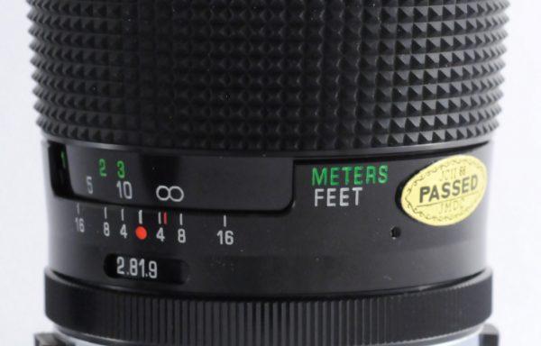 Obiettivo Vivitar Series 1 28mm f/1,9 per Olympus