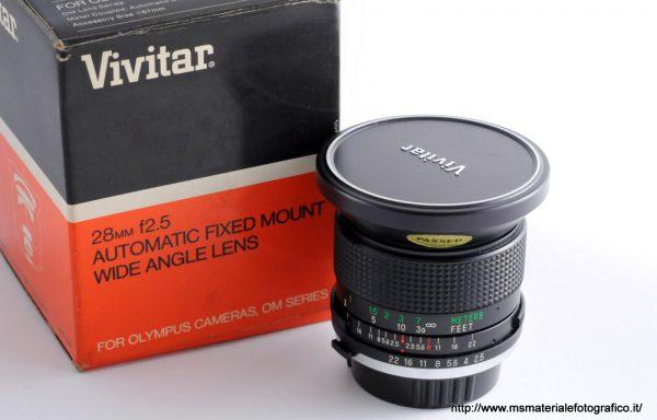 Obiettivo Vivitar 28mm f/2,5 per Olympus