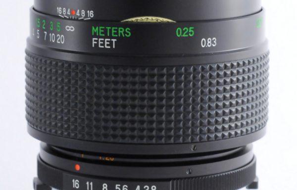 Obiettivo Vivitar MC Macro 55mm f/2,8 per Olympus