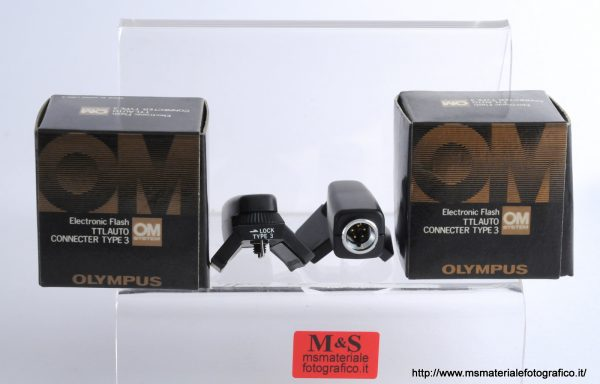 Olympus Electronic Flash TTL Auto Connecter Type 3
