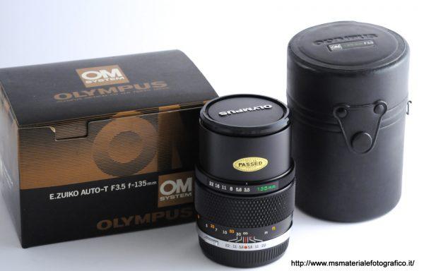 Obiettivo Olympus Zuiko Auto-T 135mm f/3,5