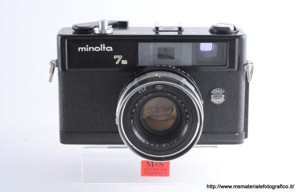 Fotocamera Minolta 7s Black