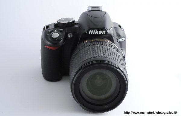 Kit Fotocamera Nikon D3100 (6300 scatti) + Obiettivo Nikkor AF-S 18-105mm f/3,5-5,6 DX VR