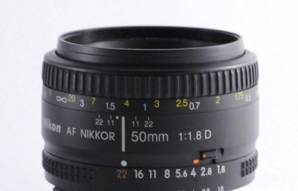 Obiettivo Nikkor AF 50mm f/1,8 D