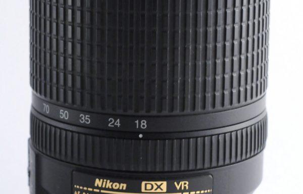 Obiettivo Nikkor AF-S 18-140mm f/3,5-5,6 G ED DX VR