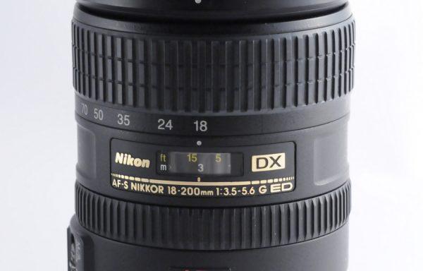 Obiettivo Nikkor AF-S 18-200mm f/3,5-5,6 G ED DX VR