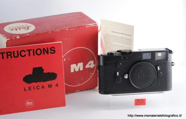 Fotocamera Leica M4 Black Chrome (1974)