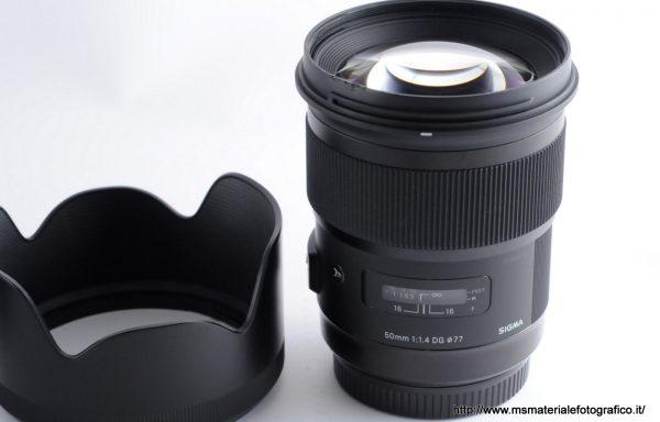 [Promozione] Obiettivo Sigma Art 50mm f/1,4 DG per Canon