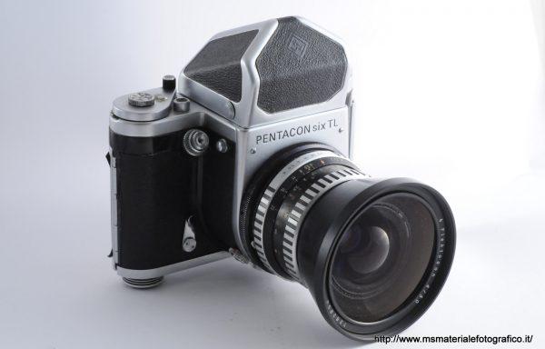 Kit Fotocamera Pentacon six TL + Obiettivo Flektogon 50mm f/4
