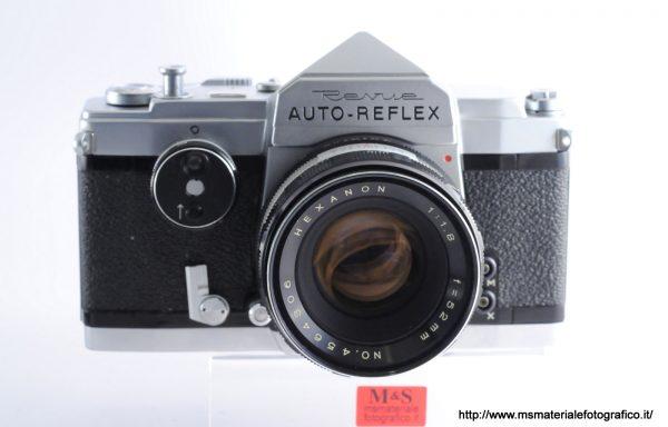 Kit Fotocamera Revue (Konica) Auto-Reflex + Obiettivo Hexanon 52mm f/1,8