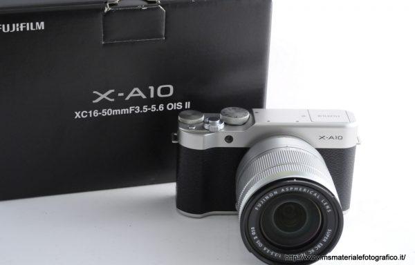 Kit Fotocamera Fujfilm X-A10 + Obiettivo Fujifilm XC 16-50mm f/3,5-5,6 OIS II