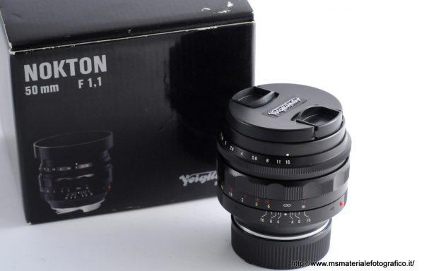 [Promozione] Obiettivo Voigtlander Nokton 50mm f/1,1 VM