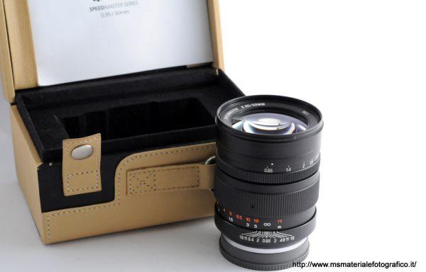 Obiettivo Zhongyi Mitakon Speedmaster 50mm f/0.95 E-Mount