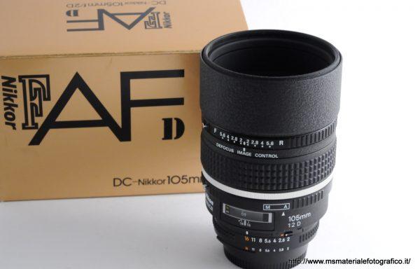 Obiettivo AF DC-Nikkor 105mm f/2 D
