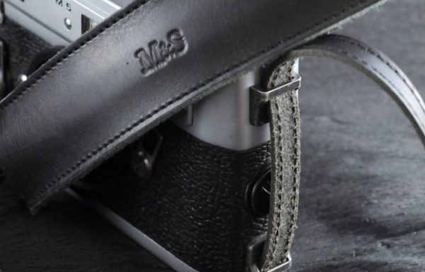 Tracolla in pelle M&S per Leica M5