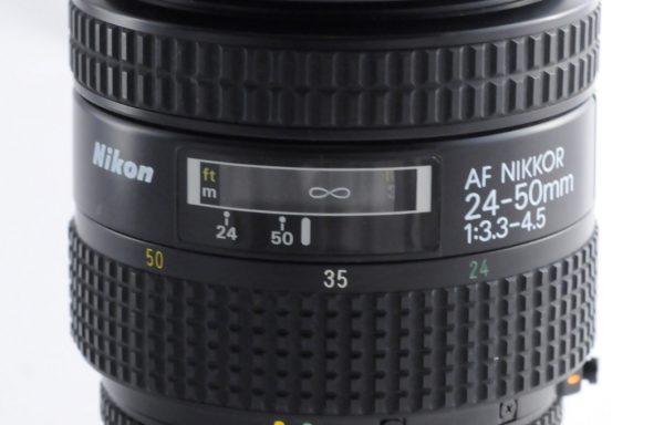 Obiettivo Nikkor AF 24-50mm f/3,3-4,5