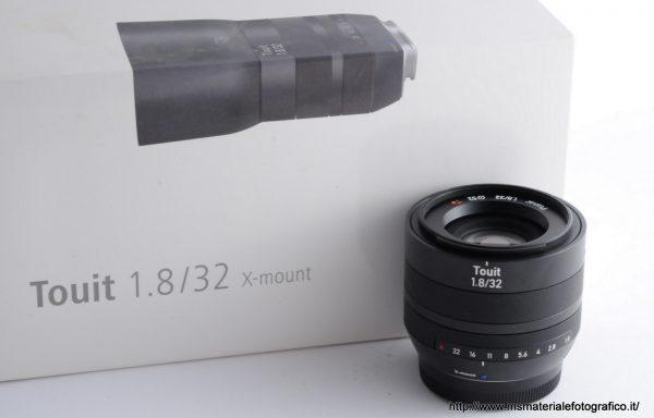 Obiettivo Zeiss Touit 32mm f/1,8 X-Mount