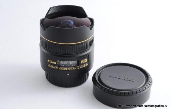 Obiettivo Nikkor AF Fisheye 10,5mm f/2,8 G ED DX