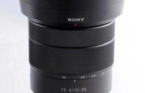 Obiettivo Sony FE 16-35mm f/4