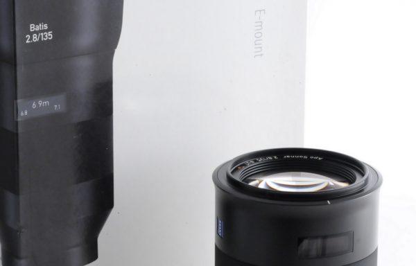 Obiettivo Zeiss Batis Apo Sonnar 135mm f/2,8 E-Mount